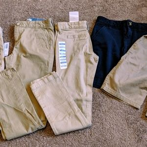 Bundle of Girls Uniform Pants/Shorts